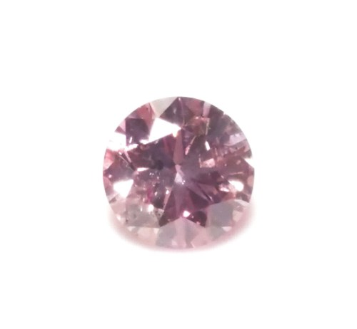 Pink Diamond - 0.20ct ARGYLE Natural Loose Fancy Purple Pink GIA Round Inscribed