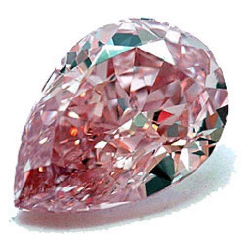 0.23ct Pink Diamond - Natural Loose Fancy Intense Pink ARGYLE Cert GIA Pear VS2