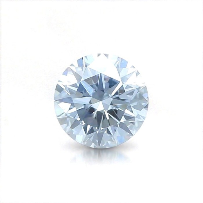 1.01ct Green Diamond - Natural Loose Fancy Light Green Color GIA Round SI2