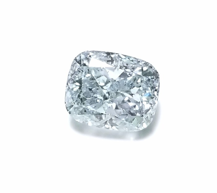 Gray Diamond - 1.05ct Natural Loose Fancy Light Gray GIA Cushion SI2