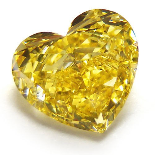cut hpht htm loose round fancy yellow ct deep p treated color diamond brownish