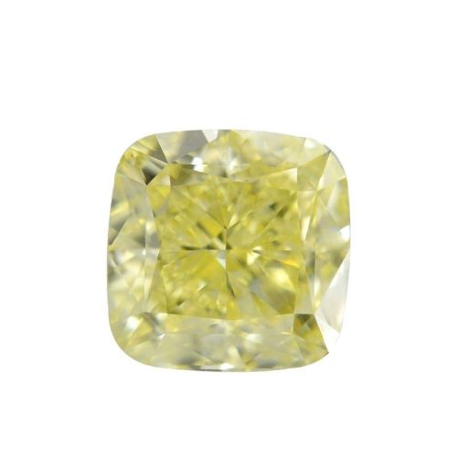 Yellow Diamond - 2.30ct Natural Loose Fancy Yellow Canary Diamond GIA VS1