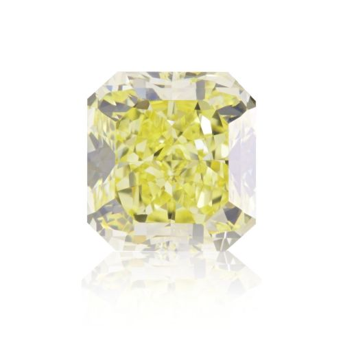 Yellow Diamond - 2.01ct Natural Loose Fancy Light Yellow Canary Diamond GIA VS1