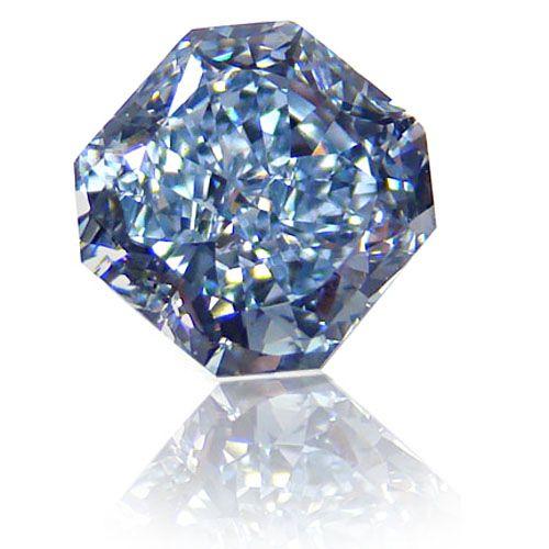intense lue diamond