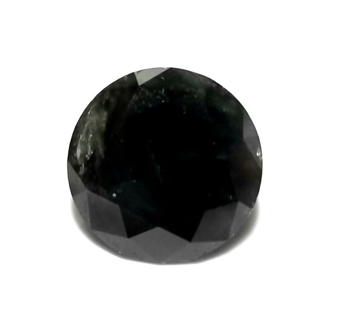 3.40ct Black Diamond - Natural Loose Fancy Black (Not Treated) Color Round