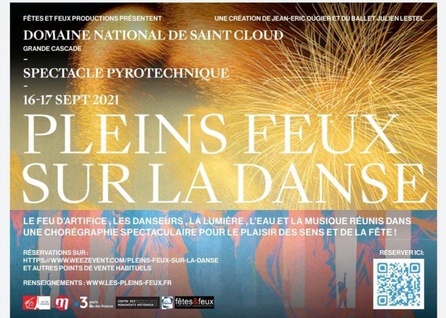 Spectacle Pyrotechnique Saint Cloud 16/17 septembre 2021