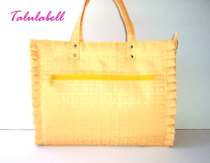 Yellow Ruffle Tote Bag Php. 480.00