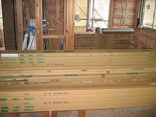 造作材とフローリング