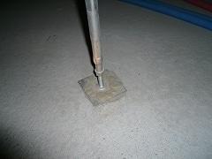 床束コンクリート