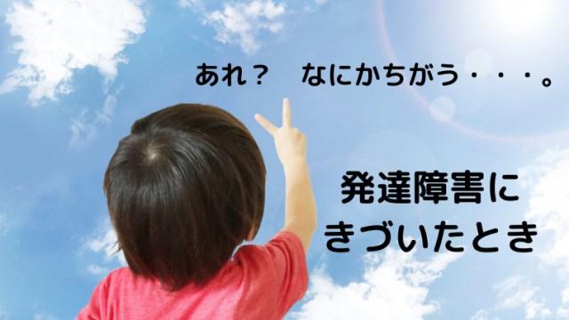 発達障害児、発達グレーゾーンの3才息子 言語発達障害と診断 言葉の遅れ