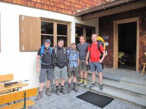 Tag 3: Start auf der Konstanzer Hütte