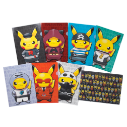 $39sgd Set of 5 folders
