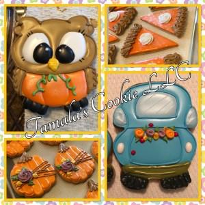 Happy Thanksgiving Cookies