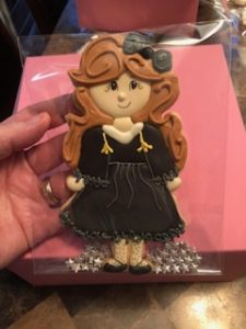 GIRL GRADUATION COOKIE