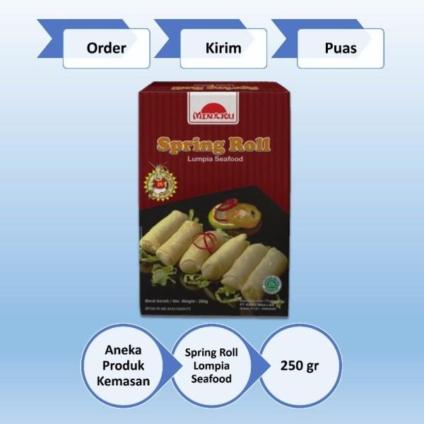 Spring Roll Lompia Seafood Taman Air Surabaya