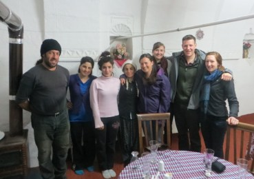 The Turkish family at Ocak Restaurant