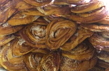 Lots of cinnamon buns