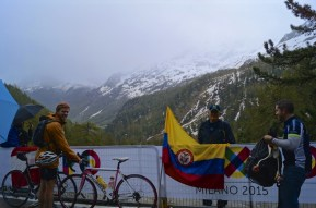 Some Colombian mates - Quintana's biggest fans