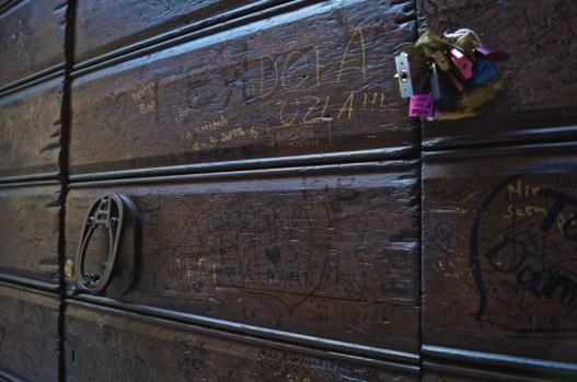 Romeos' door