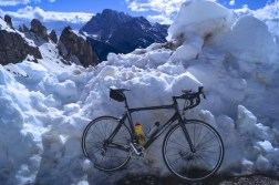 Putting the bikes on ice