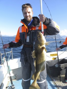 Another good sized cod