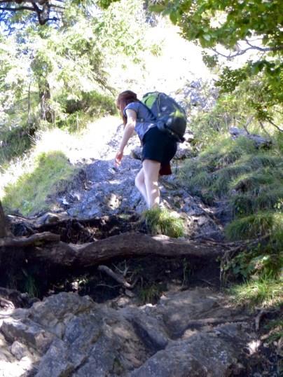 A bit of hiking