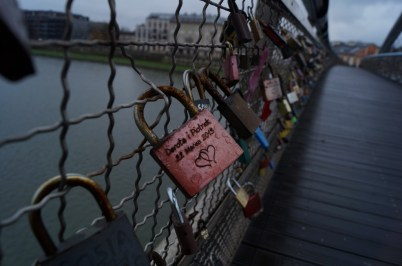 Lovers bridges becoming more popular