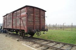 Train carriage from Hungary