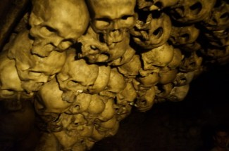 Skulls in the tavern