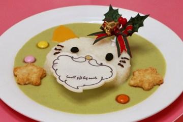 サンタキティのクリスマスリースカレー 1,300円(税込)