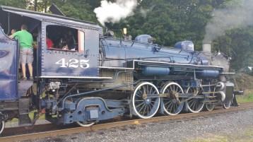 1928 Baldwin 425 Steam Engine, Locomotive, Tamaqua Train Station, Tamaqua (12)
