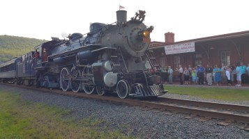 1928 Baldwin 425 Steam Engine, Locomotive, Tamaqua Train Station, Tamaqua (36)