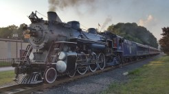 1928 Baldwin 425 Steam Engine, Locomotive, Tamaqua Train Station, Tamaqua (69)