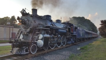 1928 Baldwin 425 Steam Engine, Locomotive, Tamaqua Train Station, Tamaqua (72)