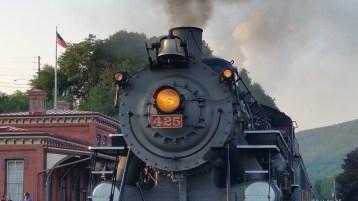 1928 Baldwin 425 Steam Engine, Locomotive, Tamaqua Train Station, Tamaqua (76)