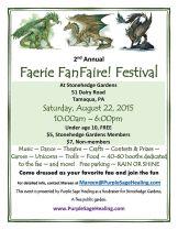 8-22-2015, Faerie FanFaire Festival, Stonehedge Gardens, South Tamaqua