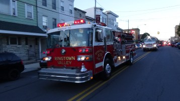 Apparatus Parade during Citz Fest, Citizens Fire Company, Mahanoy City, 8-21-2015 (124)