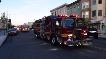Apparatus Parade during Citz Fest, Citizens Fire Company, Mahanoy City, 8-21-2015 (158)