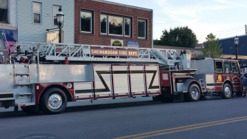 Apparatus Parade during Citz Fest, Citizens Fire Company, Mahanoy City, 8-21-2015 (3)