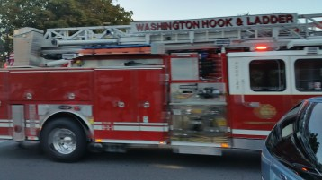 Apparatus Parade during Citz Fest, Citizens Fire Company, Mahanoy City, 8-21-2015 (39)