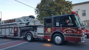Apparatus Parade during Citz Fest, Citizens Fire Company, Mahanoy City, 8-21-2015 (50)