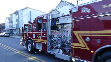 Apparatus Parade during Citz Fest, Citizens Fire Company, Mahanoy City, 8-21-2015 (76)