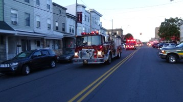 Apparatus Parade during Citz Fest, Citizens Fire Company, Mahanoy City, 8-21-2015 (80)