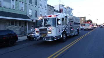 Apparatus Parade during Citz Fest, Citizens Fire Company, Mahanoy City, 8-21-2015 (92)