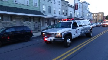Apparatus Parade during Citz Fest, Citizens Fire Company, Mahanoy City, 8-21-2015 (95)