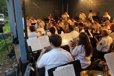 Cresona Band, and Junior Band perform, East End Playground, Tamaqua, 7-29-2015 (107)
