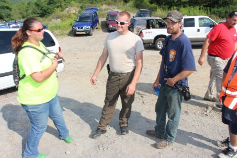 Day 3 of Search for Jesse Rex Farber, Sharp Mountain, Tamaqua, 8-15-2015 (39)