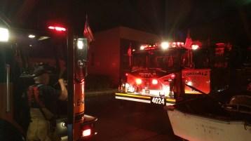 Firefighters Respond to Garage Fire in Coaldale, 8-20-2015 (14)