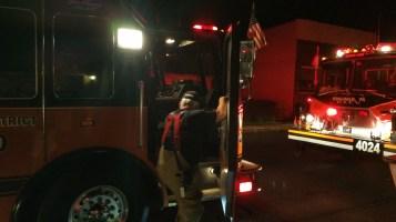 Firefighters Respond to Garage Fire in Coaldale, 8-20-2015 (15)