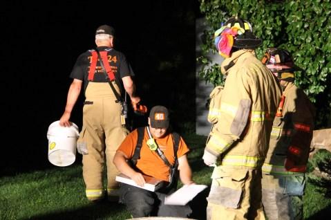 Firefighters Respond to Garage Fire in Coaldale, 8-20-2015 (234)